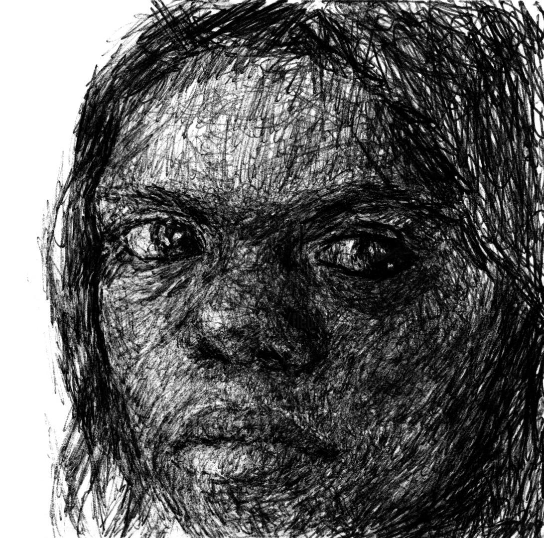 Fleur Elise Noble - Pen Drawing 1