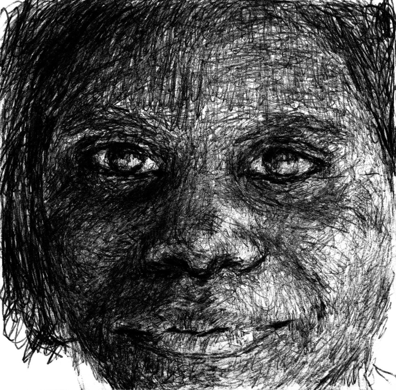 Fleur Elise Noble - Pen Drawing 7