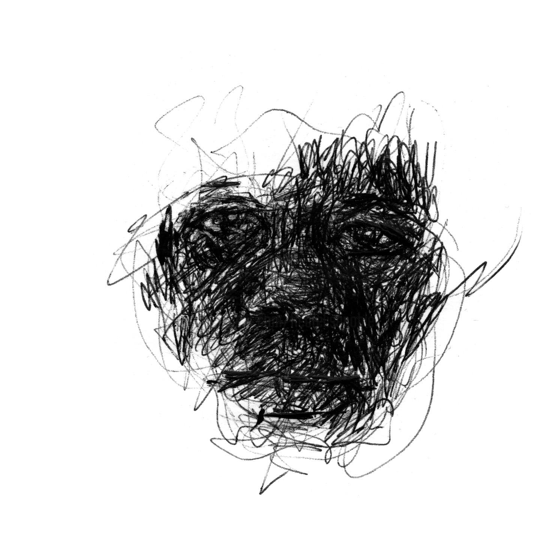 Fleur Elise Noble - Pen Drawing 13