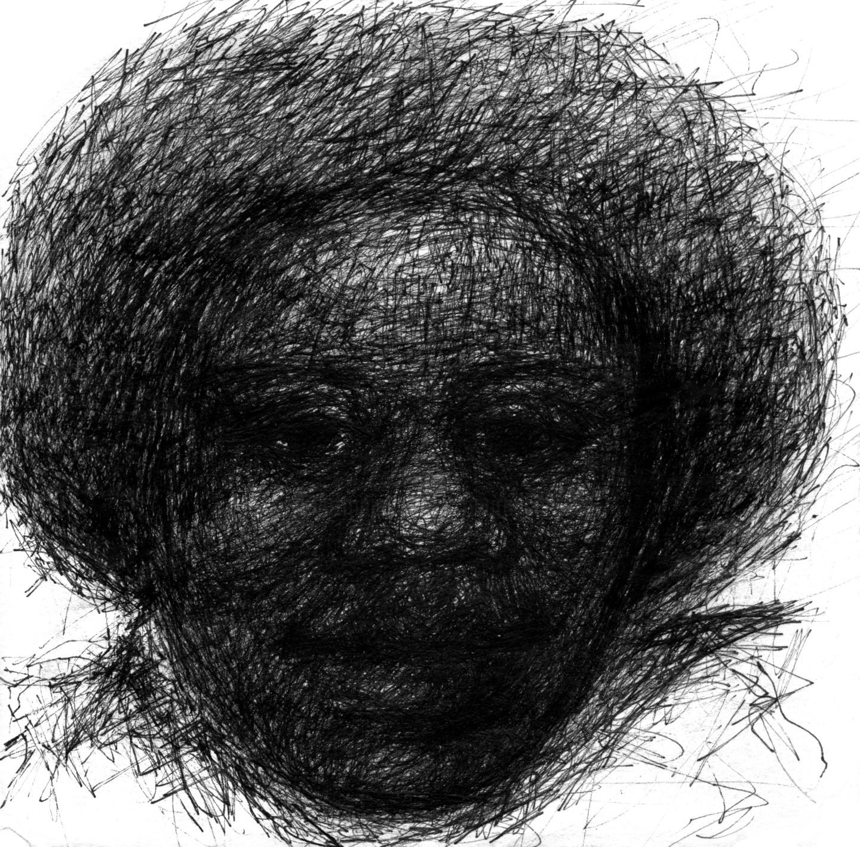 Fleur Elise Noble - Pen Drawing 14