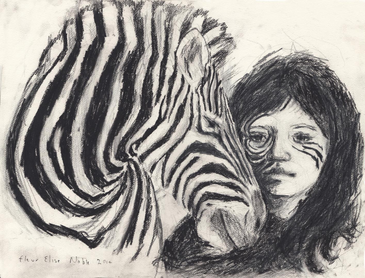 Fleur Elise Noble - Zebra Girl