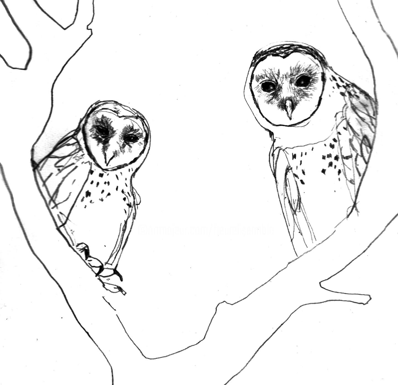 Fleur Elise Noble - Owls