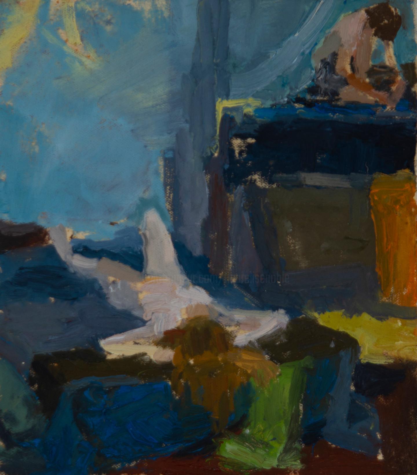 Fleur Elise Noble - Studio Painting 3
