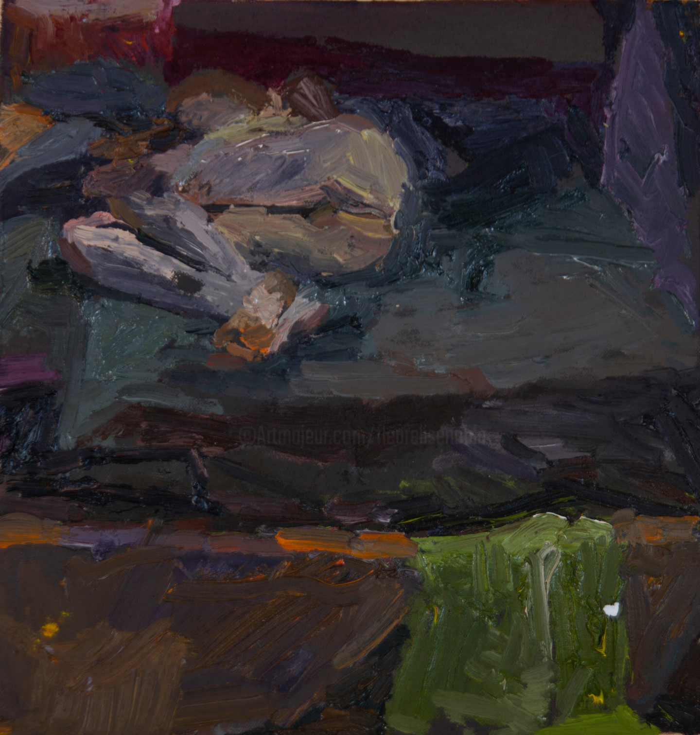 Fleur Elise Noble - Studio Painting 4