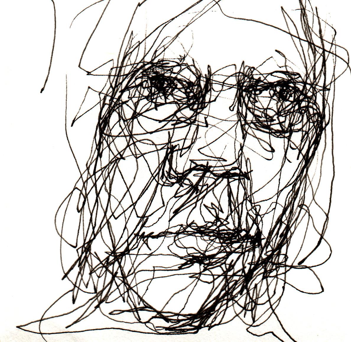 Fleur Elise Noble - Pen Drawing 15