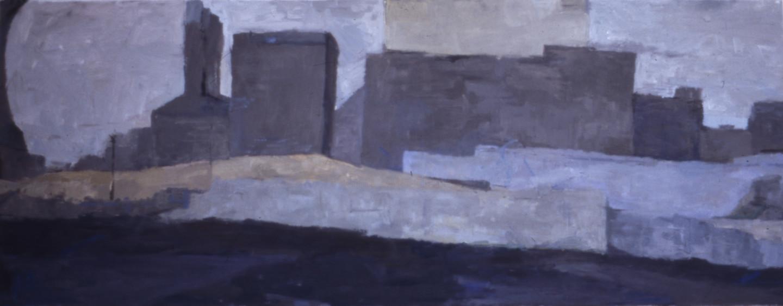 Fleur Elise Noble - Long Building Painting