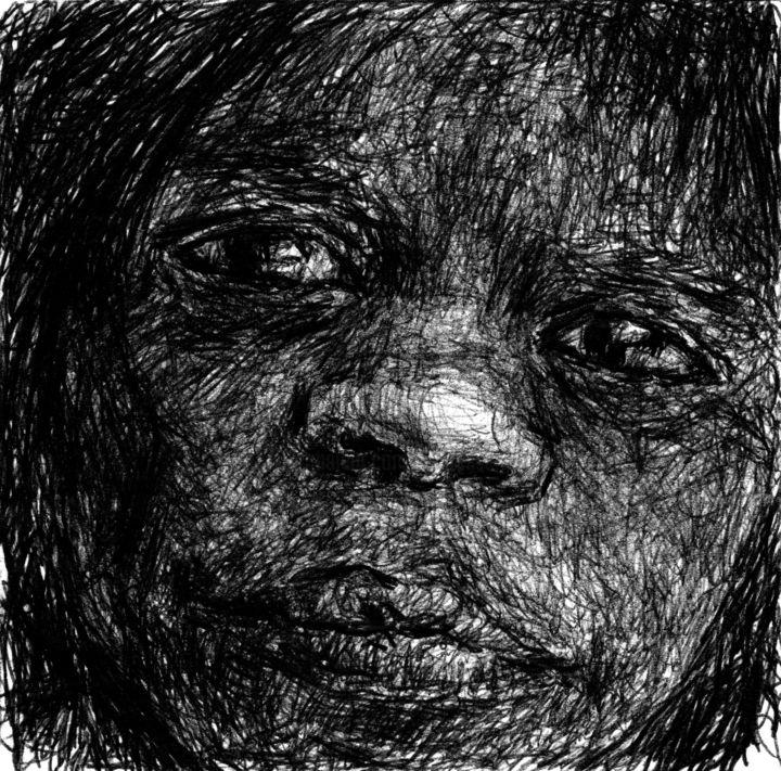 Fleur Elise Noble - Pen Drawing 4