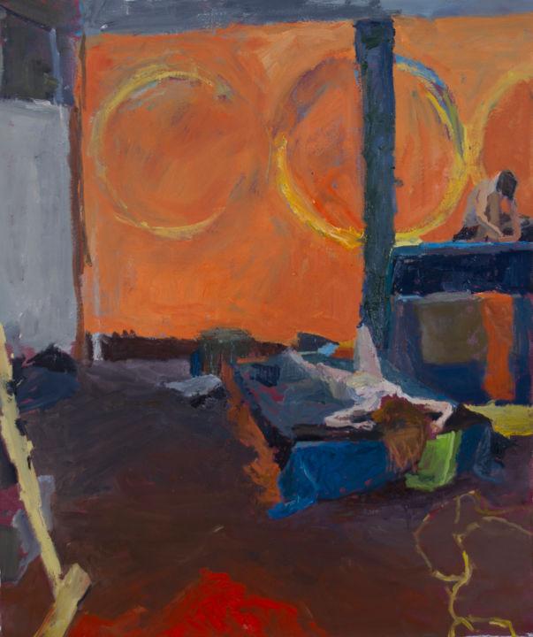 Fleur Elise Noble - Studio Painting 5